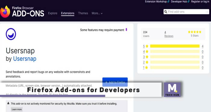 Firefox Add-ons for Developers